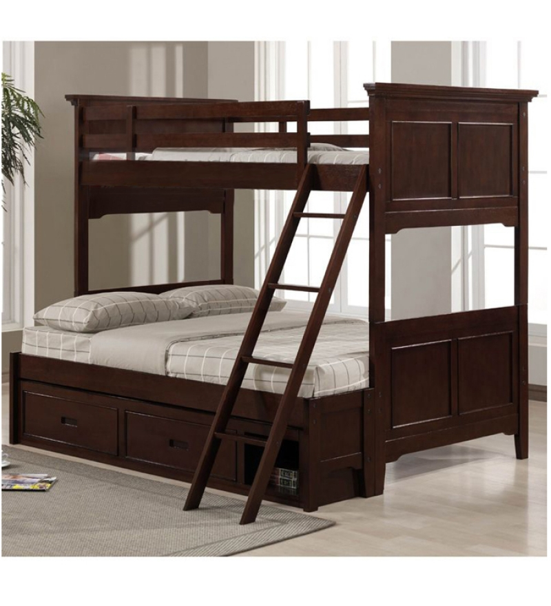 Space saving with bunk beds