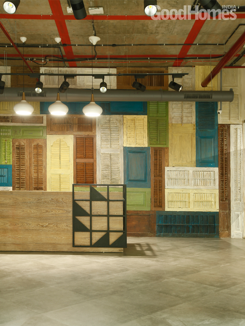 The Pepperfry Office Elucidates Bohemian Designs
