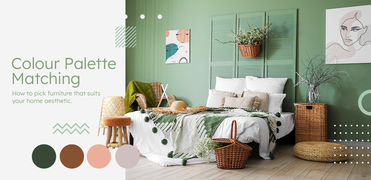 Colour Palette Matching – How to Pick Furniture that Suits Your Home Aesthetic?